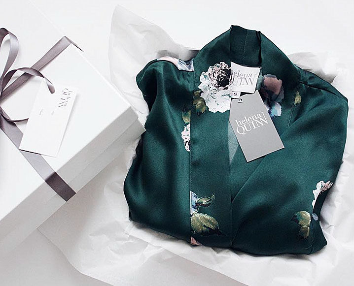 TCM 12 Days Of Holiday Gifts: The Silk Robe from Helena Quinn