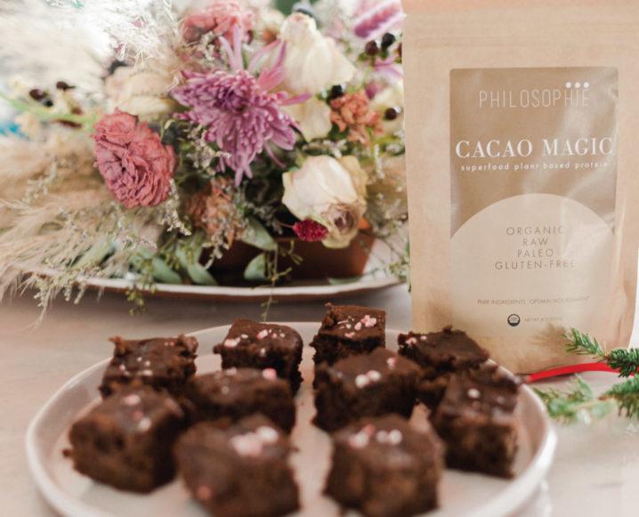Make Sophie Jaffe's Chocolate Mint Superfood Brownies