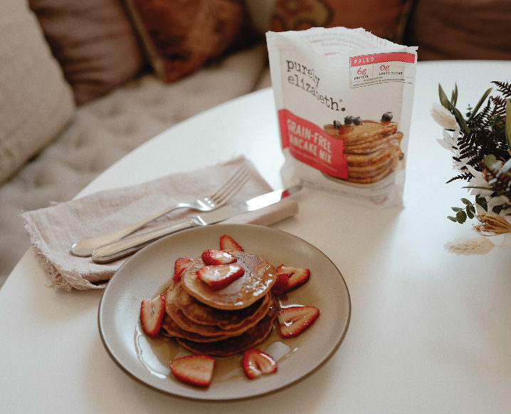 Sippy Cups + Collagen Pancakes: Mornings with Geri Hirsch + Purely Elizabeth