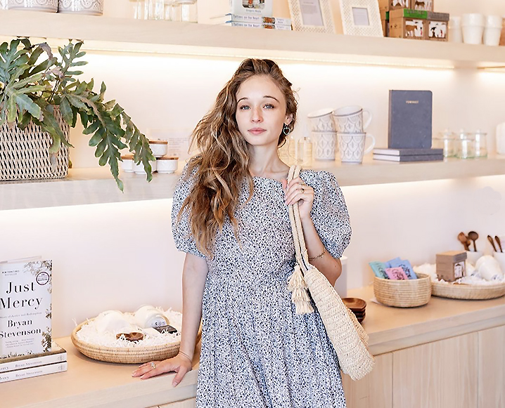 advice on healthy hair from carson shopping in store