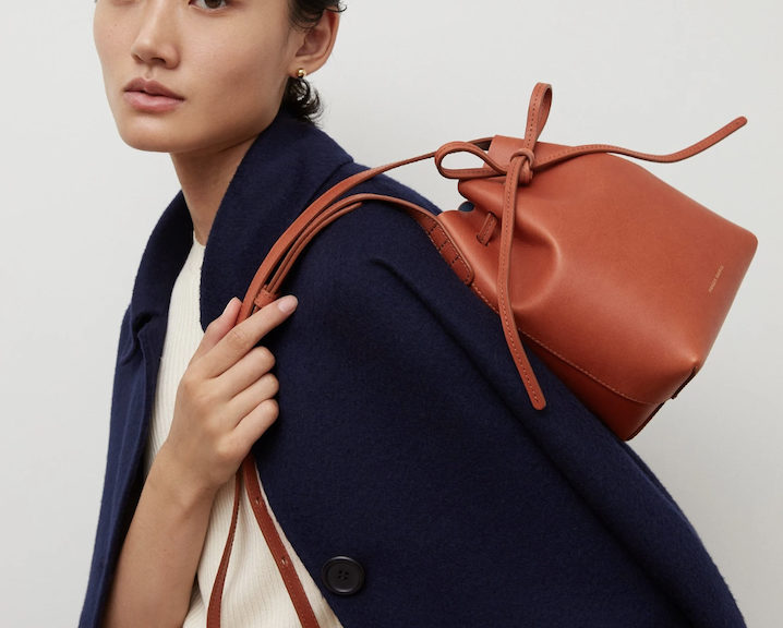 bucket bag designed by rachel mansur