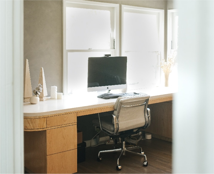 Take A Look Inside This Inspiring Home Office Redesign On A Budget