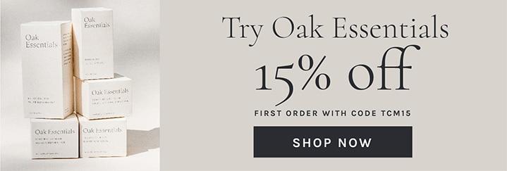 oak essentials promo code