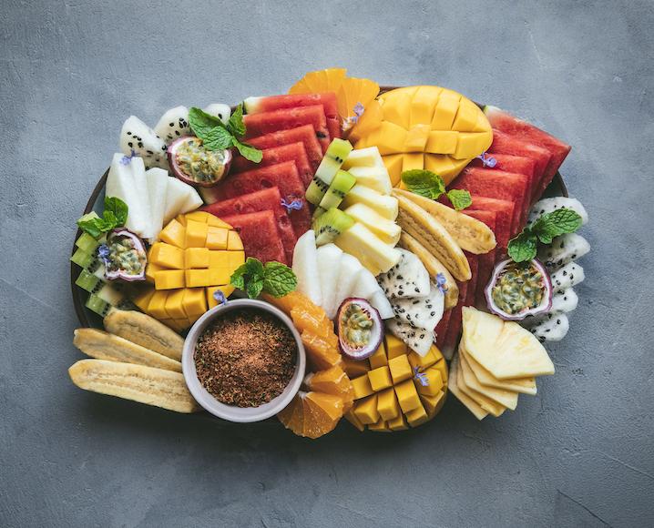 Gregory Gourdet fruit plate