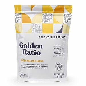 Golden Ratio Golden Milk Coffee