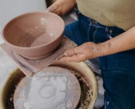 Tea, Glaze + Joni Mitchell Playlists: In the Studio with Ceramicist Lucy Michel