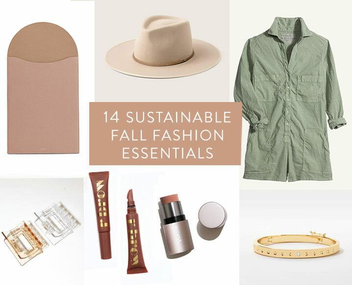 TCM Editor's Picks: 14 Sustainable Fall Fashion Essentials