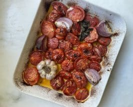 easy roasted tomato soup ingredients